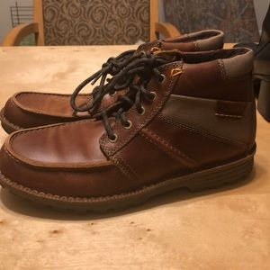 Clark's Mens Lace Up Boots